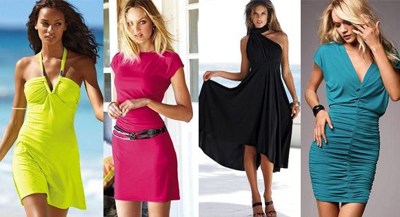 Модели платьев из трикотажа | Леди Портал